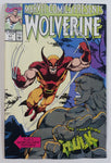 1990 Marvel Comics Presents Wolverine And The Incredible Hulk #57 Comic Book