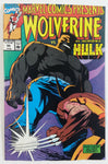 1990 Marvel Comics Presents Wolverine And The Incredible Hulk #55 Comic Book