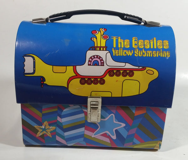 2007 Vandor The Beatles Yellow Submarine Themed Tin Metal Lunch Box