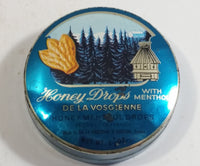 Vintage De La Vosgienne Honey Menthol Drops Tin of St. Quentin, France