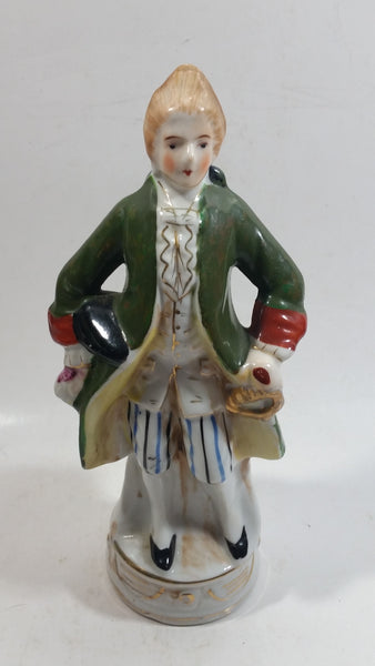 Vintage Made in Japan Porcelain Colonial Man Figurine