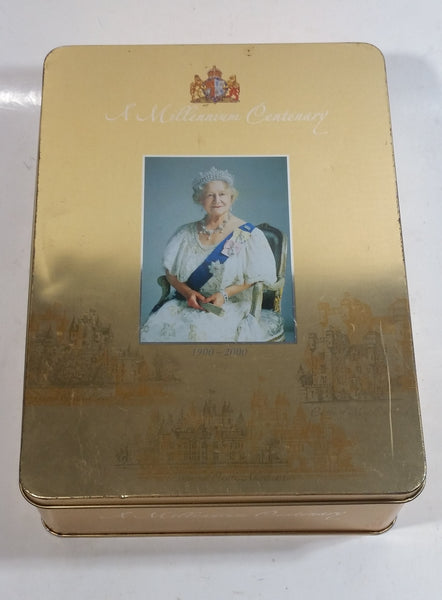 Walkers Shortbread Millennium Tin - Queen Elizabeth the Queen Mother
