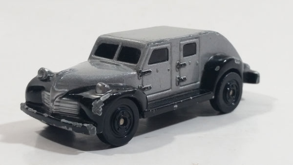 1995 Kenner DC Comics Batman Forever Armored Truck Silver and Black Die Cast Toy Car Vehicle