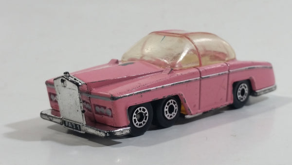 1992 Matchbox Thunderbird Series Fab1 Rolls Royce Pink Die Cast Toy Car Vehicle