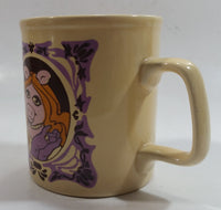 Vintage Kiln Craft Tableware 1978 Henson Assoc The Muppets Miss Piggy Character Ceramic Coffee Mug (Has a crack)