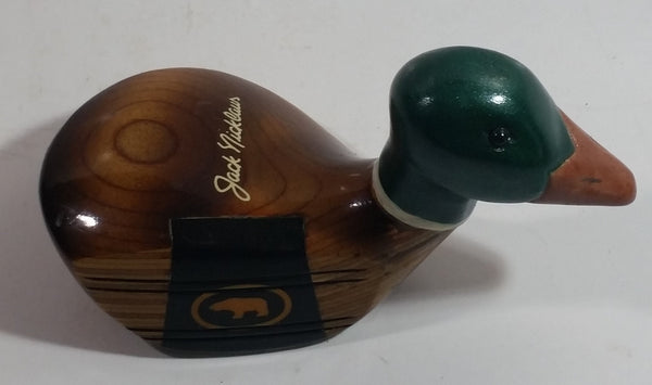 "Extremely Rare Jack Nicklaus ""The Bear"" MacGregor Div 4 Wood Golf Club Shaped Mallard Duck"
