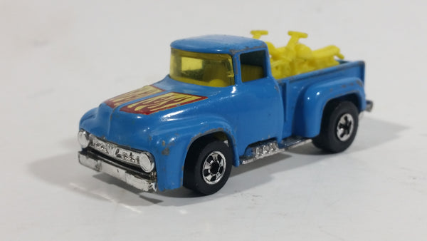 1979 Hot Wheels '56 Hi-Tail Hauler Dark Blue Enamel Ford Pickup Truck Die Cast Toy Car Vehicle - Hong Kong