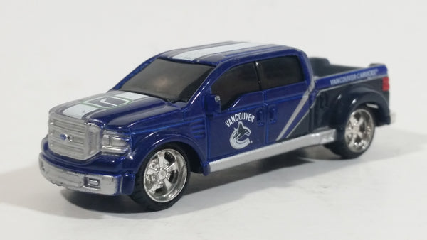 2012 Maisto Top Dog Collectible Vancouver Canucks NHL Hockey Ford Mighty F-350 Truck 1/64 Scale Die Cast Toy Car Vehicle