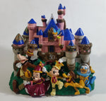 Disney 50th Anniversary Magic Kingdom Light Up Musical Pink Castle Coin Bank Plays 1945 Zip A Dee Doo Dah