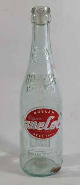 Modern Boylan Bottling Co. Sugar Cane Cola ACL Embossed Glass Soda Pop Beverage Bottle