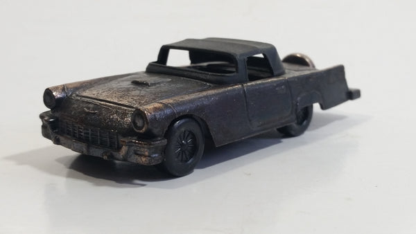 Hard to Find Vintage Miniature 1957 Ford Thunderbird Metal Pencil Sharpener Doll House Furniture Size