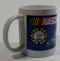 2004 Sherwood Brands Nascar White Ceramic Coffee Mug Cup Motorsports Collectible