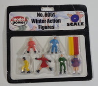 Model Power MRC No. 6051 O Scale Winter Action Figures New In Package