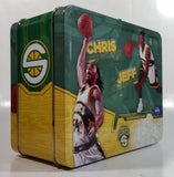 NBA Seattle Sonics Basketball Team Tin Metal Lunch Box