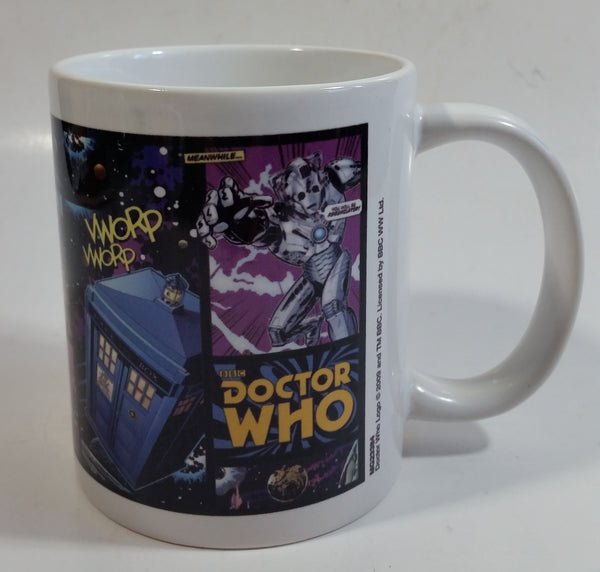 2009 BBC Doctor Who Television Show Vworp Ceramic Coffee Mug