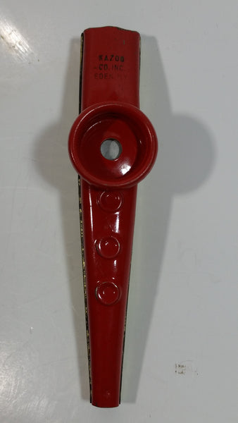 Vintage Kazoo Musical Instrument Metal Toy Eden, NY