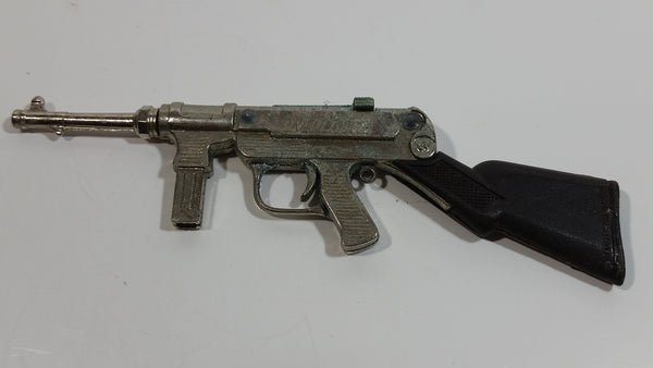 Vintage 1960s Victory Machine Gun Metal and Plastic Grip Toy Cap Gun