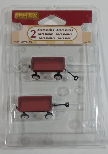 2004 Lemax Little Red Wagon Accessories #44175 New in Package