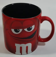 Mars M&M's Chocolate Candy Snack Red Characters Oversized Ceramic Coffee Mug Cup Collectible
