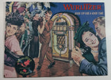 "1994 Wurlitzer Phonograph Music Good Tip For A Good Time 11 1/4"" x 15 1/4"" Tin Metal Sign"