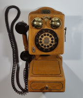 Thomas Museum Series Limited Edition Antique 1927 Wood Cased Wall Phone Reproduction