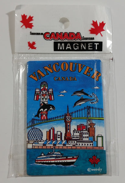 Vancouver Canada Fridge Magnet Souvenir Travel Collectible New in Package