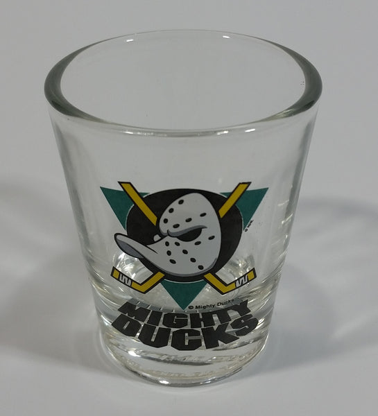 1990s NHL Anaheim Mighty Ducks Ice Hockey Team Shooter Shot Glass