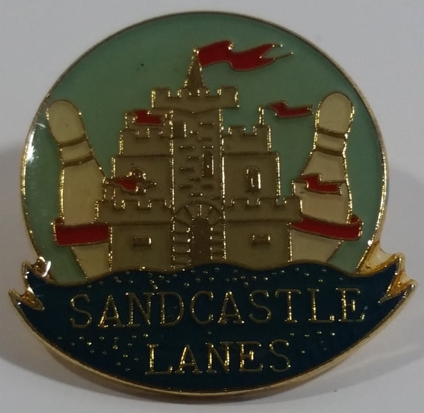 Sandcastle Lanes South Surrey, British Columbia Bowling Alley Metal Lapel Pin