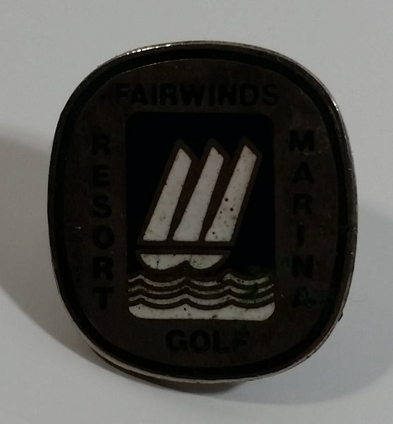 Nanoose Bay, B.C. Fairwinds Resort Golf Marine Metal and Enamel Lapel Pin Travel Collectible