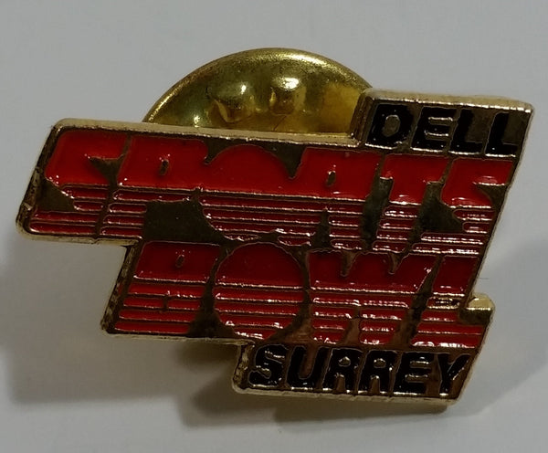 Dell Sports Bowl Surrey, British Columbia Bowling Alley Enamel Metal Lapel Pin