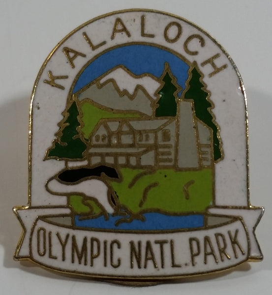 Kalaloch Olympic National Park Themed Enamel Metal Lapel Pin
