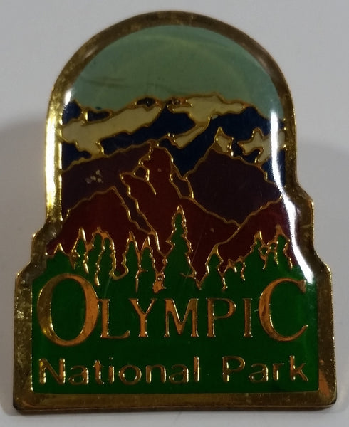 Olympic National Park Themed Enamel Metal Lapel Pin
