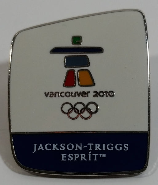 Vancouver 2010 Winter Olympic Games Jackson Triggs Esprit Enamel Metal Lapel Pin