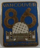 1986 Vancouver Exposition Expo 86 Science Center Themed Enamel Metal Lapel Pin