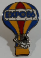 1986 Vancouver Exposition Expo 86 Ernie The Astronaut Hot Air Balloon Themed Enamel Metal Lapel Pin