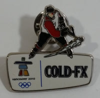 2010 Vancouver Winter Olympics Games Cold FX Ice Hockey Themed Enamel Metal Lapel Pin