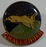 United States NASA Challenger Space Shuttle Enamel Metal Lapel Pin