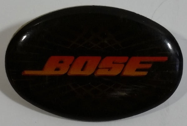BOSE Audio Equipment Black Oval Shaped Metal Lapel Pin