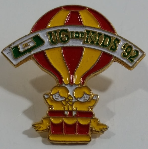 UG For Kids '92 Hot Air Balloon Enamel Metal Lapel Pin