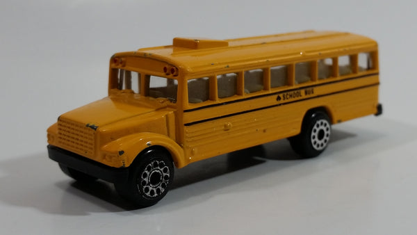 MotorMax 6033 School Bus Yellow Die Cast Toy Car Vehicle