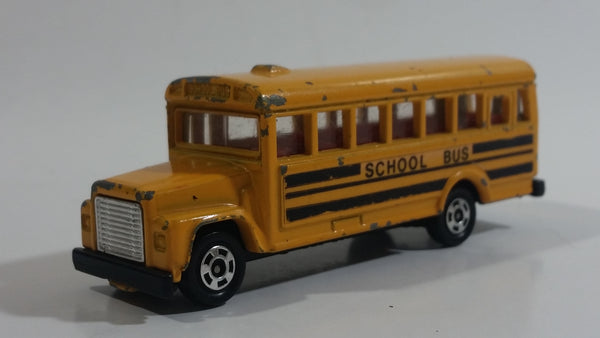Vintage 1976 Tomy Tomica No. F5 School Bus 1/108 Scale Die Cast Toy Car Vehicle Made in Japan