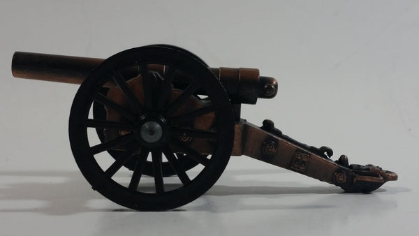Small Miniature Metal Civil War Style Cannon Model Pencil Sharpener Military Army Collectible