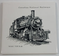 Canadian National Railways CNR 'Mogul' Type No. 81 Ceramic Tile