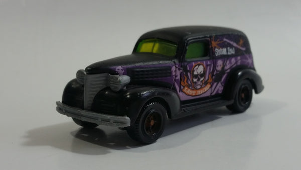 2008 Matchbox 1939 Chevy Sedan Delivery Van Matte Black Die Cast Toy Car Vehicle