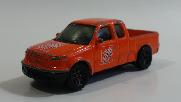 2004 Matchbox 1997 Ford F-150 Pickup Truck The Home Depot Orange Die Cast Toy Car Vehicle