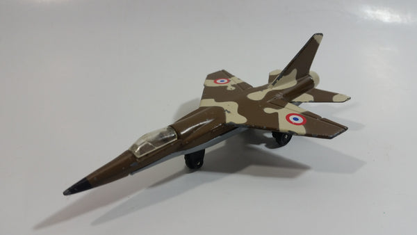 Vintage 1973 Matchbox Sky Busters Mirage F1 Camouflage Die Cast Toy Army Military Fighter Jet Airplane