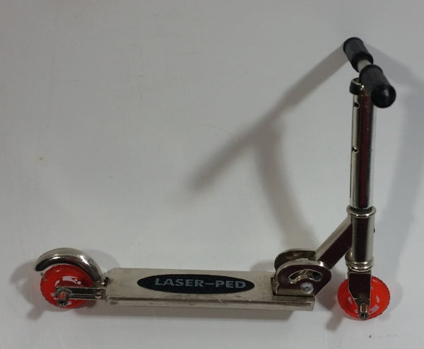 Laser-Ped Miniature Toy Finger Scooter GUC - No Accessories