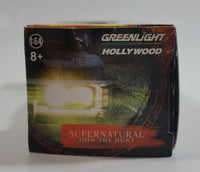 2015 Greenlight Hollywood Loot Crate Exclusive Supernatural TV Series 1967 Chevrolet Impala Sport Sedan Black Die Cast Toy Car Vehicle New in Box