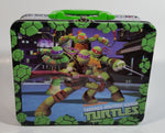 Nickelodeon Teenage Mutant Ninja Turtles Embossed Tin Metal Lunch Box