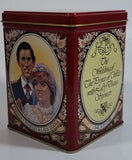 Prince Charles & Lady Diana Wedding 29th July 1981 St. Paul's Cathedral Tin Metal Container